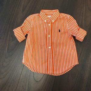 Boys Ralph Lauren Polo Button Down Shirt